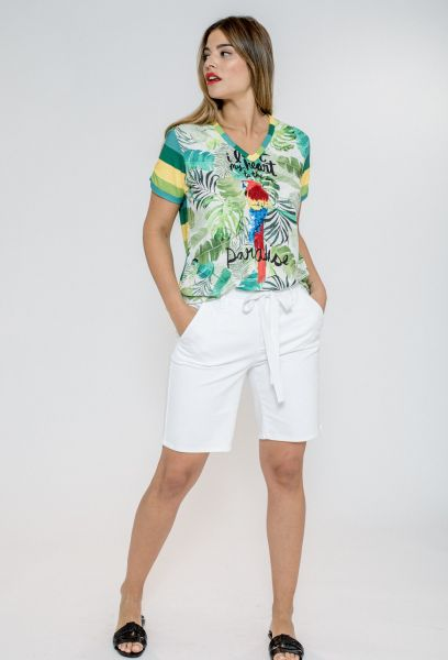 CAMISETA TROPICAL LORO